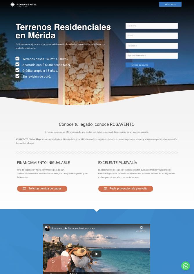 Landing Page pagina de aterrizaje dominio 2-min