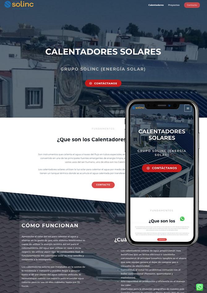Proyecto Página Web Emprendedor Económica Querétaro