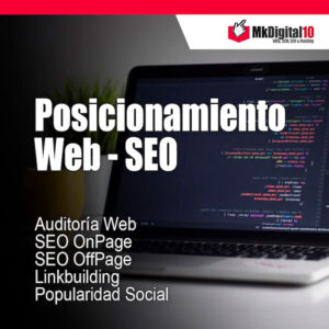 Plan Posicionamiento web SEO en buscadores